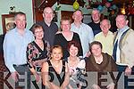 FESTIVITIES: Joining in the new year festivities in Flynn's Bar, Knockanure, were front l-r: Trish Rogan, Mary Carmody and Noreen Flavin. Back l-r: John Carmody, Mary Buckley, Andrew Rogan, Bernadette Enright, Joe Enright, Jerry Woods, Tony Buckley and Mickey Flavin, all Knockanure.   Copyright Kerry's Eye 2008