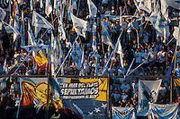 BUENOS AIRES, ARGENTINA, 08 MAIO 2013 - NICOLAS MADURO VISITA OFICIAL NA ARGENTINA - O presidente da Venezuela Nicolas Maduro durante evento organizando por militantes do partido de Christina Kirchner no Clube All Boys em Buenos Aires, capital da Argentina, nesta quarta-feira, 08. (FOTO: PATRICIO MURPHY / BRAZIL PHOTO PRESS).