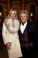DEC 14 Penny Lancaster and Sir Rod Stewart at Chain of Hope  Carol Concert