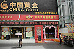 The small Tibetan quarters in Lhasa are getting overun by Chinese shops.