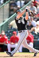 Gordon Beckham, Chicago White Sox 2010 spring training..Photo by:  Bill Mitchell/Four Seam Images.