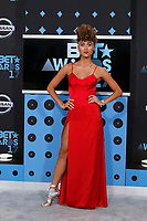 LOS ANGELES - JUN 25:  Ally Love at the BET Awards 2017 at the Microsoft Theater on June 25, 2017 in Los Angeles, CA