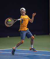 Hilversum, Netherlands, December 4, 2016, Winter Youth Circuit Masters, Abel Forger (NED)<br /> Photo: Tennisimages/Henk Koster