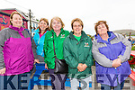 Cromane ladies supporting their crews at the Portmagee Regatta on Saturday pictured l-r; Noreen Griffin, Angela Teahan, Ann Teahan, Mary Conway & Josephine O'Sullivan.