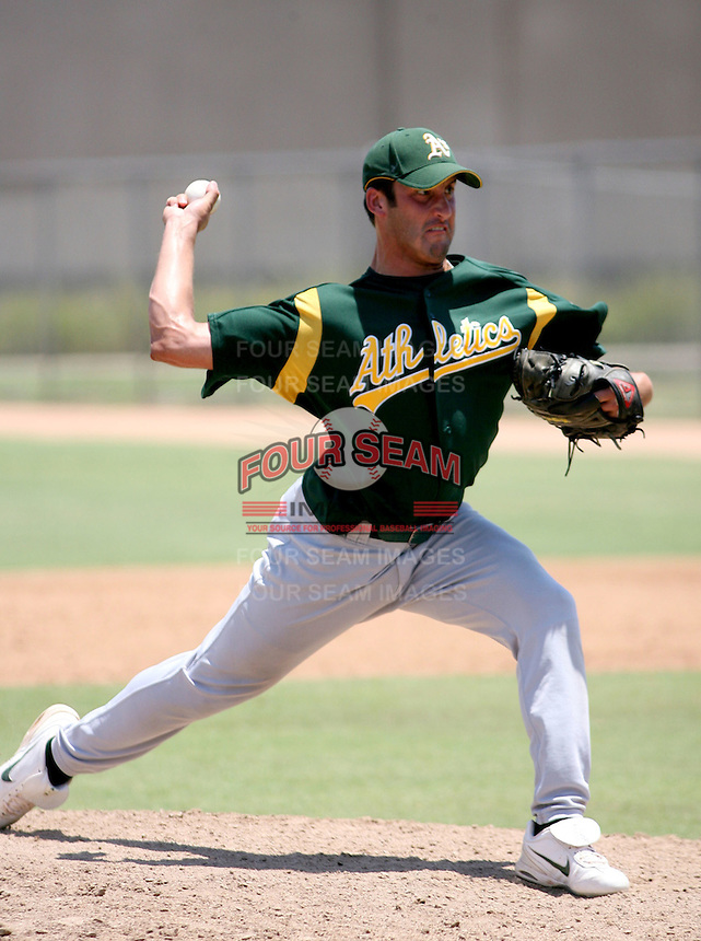 Juston Street / AZL Athletics..Photo by:  Bill Mitchell/Four Seam Images
