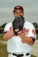 Feb 27, 2010; Tampa, FL, USA; Baltimore Orioles  pitcher David Hernandez (63) during  photoday at Ed Smith Stadium. Mandatory Credit: Tomasso De Rosa/ Four Seam Images