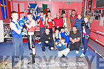 Cashen Cale Boxing Club: Michael Ahern & Maurice Falvey. Front : Ryan doyle. Centre: Mike O'Brien, Killian Walsh. Patrick O'Brien & Maurice Falvey Sn. Back : Stephen reidy, Brian Wall, Michael finnucane, Tom McMahon, Colm Wall , Paddy Fitzmaurice & Naomi O'Brien.