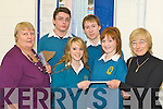 Eileen Revington Brian O'Sullivan, Katie Liston, Conor Cleary, Katelyn Galwey and Roberta Kneeshaw