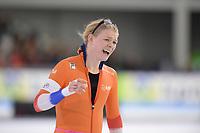 SCHAATSEN: HEERENVEEN: 07-03-2020, IJsstadion Thialf, ISU World Cup Final, 1000m Ladies, Sanneke de Neeling (NED), ©foto Martin de Jong