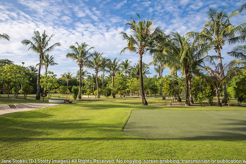 Kuredu Island Resort Golf Course n the Maldives<br /> <br /> Photo Jane Stokes