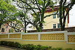 Butterfield & Swire Agent's Residence (Purchased In 1919 and Extended Soon Thereafter) With What Is Presumed To Be Cornabé Eckford's Residence Next Door.  West Elevation From Jiangsu Road, Qingdao (Tsingtao).