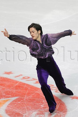 Yasuhari Nanri (JPN), NOVEMBER 13, 2009 - Figure Skating : ISU Grand Prix of Figure Skating 2009/2010 Skate America 2009 Men's Short Program at Olympic Center, Lake Placid, USA. Photo by YUTAKA/actionplus. UK Licenses Only