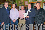 "O'Carroll Book Launch :Pictured at the launch of Gerry O'Carroll's book "" The Gathering Of Souls "" at John B Keanes Pub in Listowel on Saturday night last were  Stephen Rae, Editor Evening Hearld, Sean O'Keeffe, Liberty Press, Billy Keane, Gerry O'Carroll and Michael O'Doherty, V.I.P magazine"