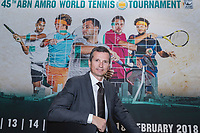Amsterdam, Netherlands, Januari 10, 2017, Pressconference ABNAMROWTT 2018, Richard Krajicek, tournament director<br /> Photo: Tennisimages/Henk Koster