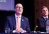 UKIP <br /> Leadership hustings <br /> at the Emanuel Centre, London, Great Britain <br /> 1st November 2016 <br /> <br /> the first leadership hustings before the election on 28th November 2016 <br /> <br /> <br /> <br /> Paul Nuttall <br /> <br /> <br /> <br /> <br /> Photograph by Elliott Franks <br /> Image licensed to Elliott Franks Photography Services