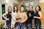 Staff from Causeway Comprehensive  enjoying a christmas party at Ballyroe Heights Hotel on Friday Pictured Jennifer Barry, Leslie Mckenna, Joe Burkett, Gillian Dowling and Fiona Leahy