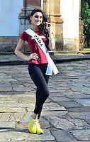 OURO PRETO, MG, 20.09.2013 - MISS BRASIL 2013 -Miss Pará, Anne Carolline Vieira candidata a Miss Brasil 2013 durante visita a cidade historica de Ouro Preto a 100 km de Belo Horizonte. (Foto: Eduardo Tropia / Brazil Photo Press)