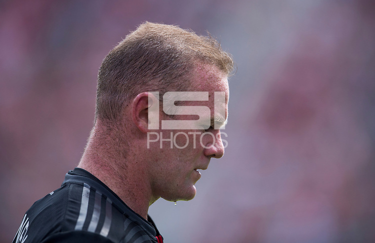 Washington, DC - September 16, 2018:  D.C. United tied the New York Red Bulls 3-3 during a Major League Soccer (MLS) match at Audi Field.
