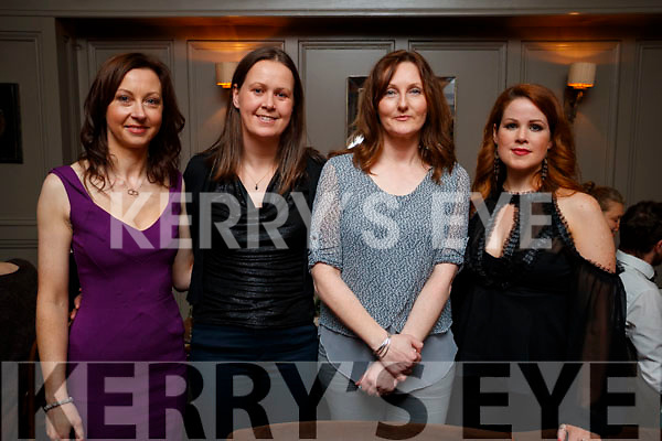 Pictured at No. 4 The Square, Tralee, on Saturday night were l-r: Marie O'Connell, Julie Behan, Norma O'Connor and Rosa O'Shea.