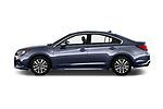 Car driver side profile view of a 2018 Subaru Legacy Premium 4 Door Sedan