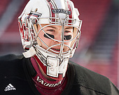 Alex Wakaluk (UMass - 34) - The UMass Minutemen practiced at Fenway Park on Friday, January 6, 2017, in Boston, Massachusetts.