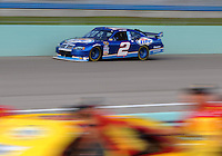 Nov. 14, 2008; Homestead, FL, USA; NASCAR Sprint Cup Series driver Kurt Busch during qualifying for the Ford 400 at Homestead Miami Speedway. Mandatory Credit: Mark J. Rebilas-