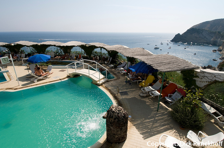 Therme Giardini Tropical in Sant' Angelo, Ischia, Italien
