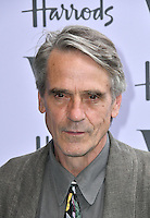 Jeremy Irons at V&amp;A Museum Summer Party fundraising benefit hosted by CondŽ Nast at Victoria and Albert Museum, London, England on June 22, 2016.<br /> CAP/JOR<br /> &copy;JOR/Capital Pictures<br /> Jeremy Irons at V&amp;A Museum Summer Party fundraising benefit hosted by Cond&eacute; Nast at Victoria and Albert Museum, London, England on June 22, 2016.<br /> CAP/JOR<br /> &copy;JOR/Capital Pictures /MediaPunch ***NORTH AND SOUTH AMERICAS ONLY***