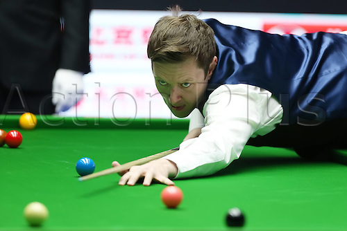 03.04.2016. Beijing, China.  Ricky Walden of England competes during the final of the 2016 World Snooker China Open Tournament against his compatriot Judd Trump in Beijing,  China, April 3, 2016.