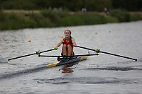 Race: 139: W J16 1x  Final<br /> <br /> Peterborough Summer Regatta 2017 - Saturday<br /> <br /> To purchase this photo, or to see pricing information for Prints and Downloads, click the blue 'Add to Cart' button at the top-right of the page.