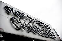The Stade du Pays de Charleroi football stadium from the Sporting Charleroi club in Charleroi (Belgium, 06/12/2012)