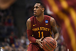 MILWAUKEE, WI - MARCH 18: Iowa State Cyclones guard Monte Morris (11) eyes the basket during the second half of the 2017 NCAA Men's Basketball Tournament held at BMO Harris Bradley Center on March 18, 2017 in Milwaukee, Wisconsin. (Photo by Jamie Schwaberow/NCAA Photos via Getty Images)