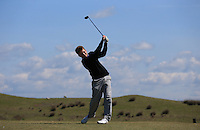 Alex McHugh during Round Two of the West of England Championship 2016, at Royal North Devon Golf Club, Westward Ho!, Devon  23/04/2016. Picture: Golffile | David Lloyd<br /> <br /> All photos usage must carry mandatory copyright credit (&copy; Golffile | David Lloyd)