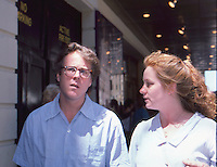 John Heard &amp; Melissa Leo 1987 by <br />