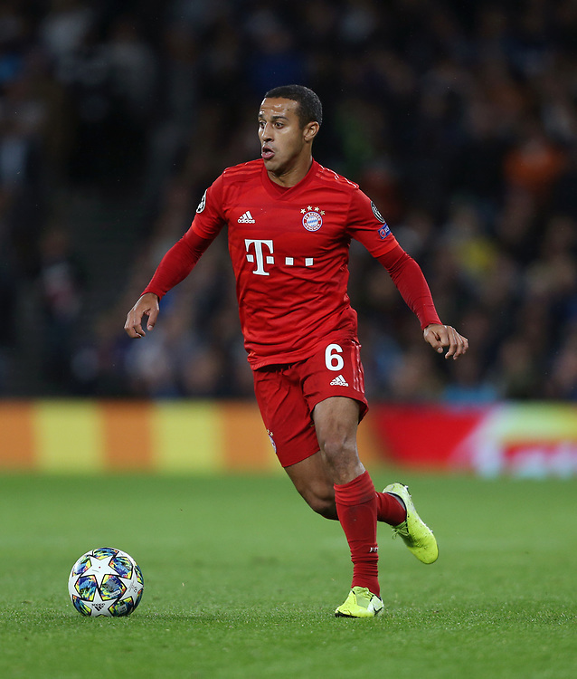 Bayern Munich's Thiago Alcantara<br /> <br /> Photographer Rob Newell/CameraSport<br /> <br /> UEFA Champions League Group B  - Tottenham Hotspur v Bayern Munich - Tuesday 1st October 2019 - White Hart Lane - London<br />  <br /> World Copyright © 2018 CameraSport. All rights reserved. 43 Linden Ave. Countesthorpe. Leicester. England. LE8 5PG - Tel: +44 (0) 116 277 4147 - admin@camerasport.com - www.camerasport.com