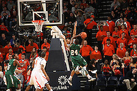 Sylven Landesberg scored 19 points and had two free throws and two key assists in the final 2:36 on Wednesday night as Virginia ended No. 24 UAB's 10-game winning streak with a 72-63 victory Dec. 30, 2009. The Cavaliers (7-4) beat a ranked opponent for the first time since they topped Clemson last February, giving first-year coach Tony Bennett his biggest victory at Virginia.  (Photo/Andrew Shurtleff)
