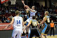 GRONINGEN - Basketbal, Donar - Den Helder Suns, Martiniplaza, Dutch Basketbal League,  seizoen 2018-2019, 27-11-2018,  Donar speler Grant Sitton op weg naar score