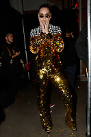 Christian Cowan 10/02/2018<br /> Backstage, New York Fashion Week FW18 <br /> <br /> New York Fashion Week,  New York, USA in February 2018.<br /> CAP/GOL<br /> &copy;GOL/Capital Pictures