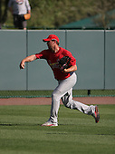 Josh Hancock of the St. Louis Cardinals vs. the Atlanta Braves March 16th, 2007 at Champion Stadium in Orlando, FL during Spring Training action.  Photo copyright Mike Janes Photography 2007.