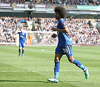 Leicester City's Hamza Choudhury<br /> <br /> Photographer Rich Linley/CameraSport<br /> <br /> The Premier League - Burnley v Leicester City - Saturday 14th April 2018 - Turf Moor - Burnley<br /> <br /> World Copyright &copy; 2018 CameraSport. All rights reserved. 43 Linden Ave. Countesthorpe. Leicester. England. LE8 5PG - Tel: +44 (0) 116 277 4147 - admin@camerasport.com - www.camerasport.com