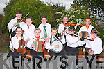 COMPETITION: Under 12 Finuge band group hoping they won their section at the Causeway Fleadh Cehoil, at Causeway Comprehensive School on Saturday, Front l-r: Lisa O'Sullivan, Mairead Brosnan, Ciara?n Monahan, Tracy Kelliher and Siobhan O'Keeffe-Kelly. Back l-r; Mikey Murphy, Aoife O'Donnell, Barry Mahony, Clodaghj Gaynor and Muirne Wall.  ...