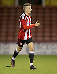 Sheffield United's Oliver Greaves during the FA Youth Cup First Round match at Bramall Lane Stadium, Sheffield. Picture date: November 1st 2016. Pic Richard Sellers/Sportimage