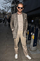 Alistair Guy at the LFW (Men's) a/w2018 Oliver Spencer catwalk show, BFC Show Space, The Store Studios, The Strand, London, England, UK, on Saturday 06 January 2018.<br /> CAP/CAN<br /> &copy;CAN/Capital Pictures