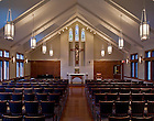 Interior of Duncan Hall Chapel..Photo by Matt Cashore/University of Notre Dame