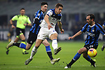 Mario Pasalic of Atalanta shoots wide of the target during the Serie A match at Giuseppe Meazza, Milan. Picture date: 11th January 2020. Picture credit should read: Jonathan Moscrop/Sportimage
