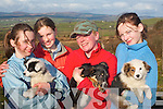 Suzanne Gibbons from Heather Hill farm with some of the puppies they have rescued and are appealing for people to donate dog food l-r:Lauren Elbel Killarney, Shaena Maher Killorglin Suzanne Gibbons and Cammy Kelliher Kilcummin   Copyright Kerry's Eye 2008