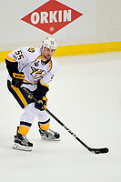 May 29, 2017: Nashville Predators left wing Cody McLeod (55) in game action during game one of the National Hockey League Stanley Cup Finals between the Nashville Predators  and the Pittsburgh Penguins, held at PPG Paints Arena, in Pittsburgh, PA. Pittsburgh defeats Nashville 5-3 in regulation time.  Eric Canha/CSM
