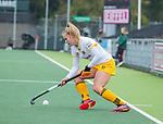 AMSTELVEEN - Imme van der Hoek (DenBosch)   tijdens de hoofdklasse hockeywedstrijd dames,  Amsterdam-Den Bosch (1-1).   COPYRIGHT KOEN SUYK
