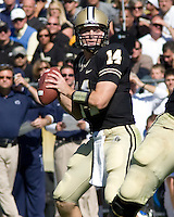 October 03, 2008: Purdue quarterback Joey Elliott. The Penn State Nittany Lions defeated the Purdue Boilermakers 20-06 on October 03, 2008 at Ross-Ade Stadium, West Lafayette, Indiana.