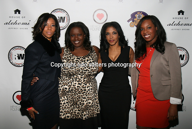 Row Lawson, Kelley Carter, Al Jazeera America Anchor and Honoree RICHELLE CAREY, Al Jazeera America Producer Brittany Cummings Attend DJ Jon Quick's 5th Annual Beauty and the Beat: Heroines of Excellence Awards Honoring AMBRE ANDERSON, DR. MEENA SINGH,<br /> JESENIA COLLAZO, SHANELLE GABRIEL, <br /> KRYSTAL GARNER, RICHELLE CAREY,<br /> DANA WHITFIELD, SHAWN OUTLER,<br /> TAMEKIA FLOWERS Held at Suite 36, NY